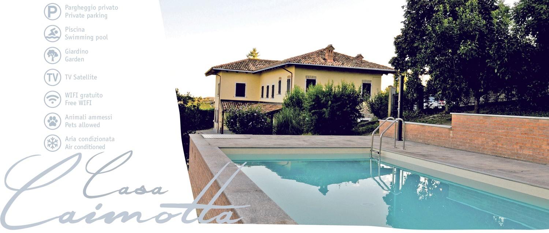 Casa Caimotta: services.